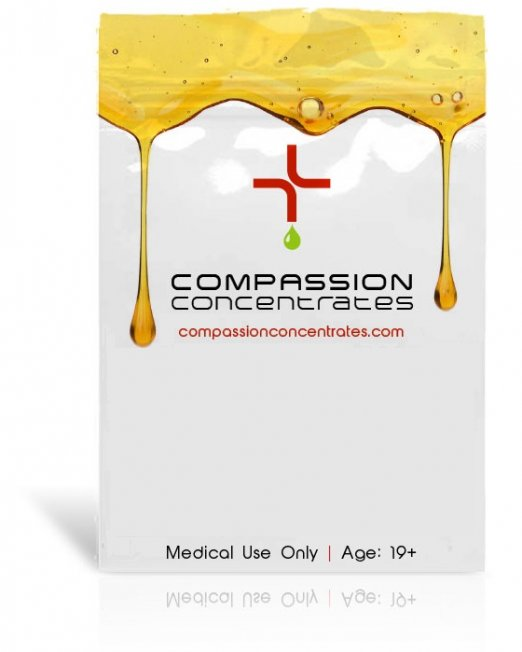 Compassion Concentrates Packaging
